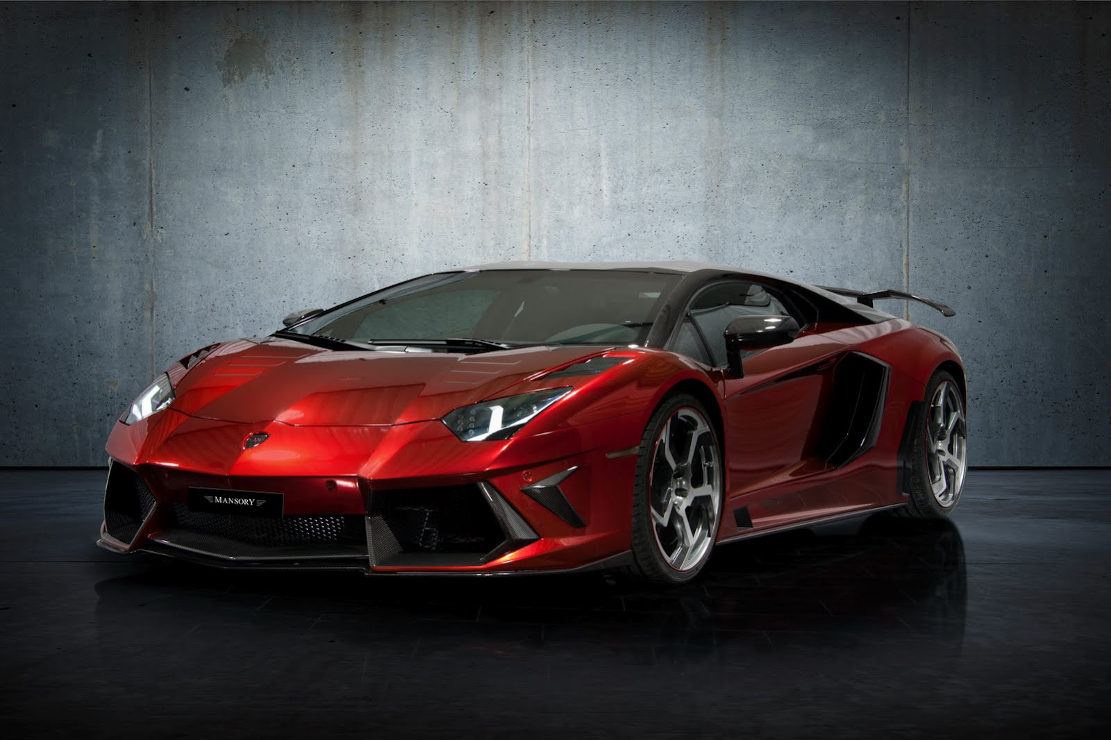Lamborghini Aventador LP700-4 by Mansory
