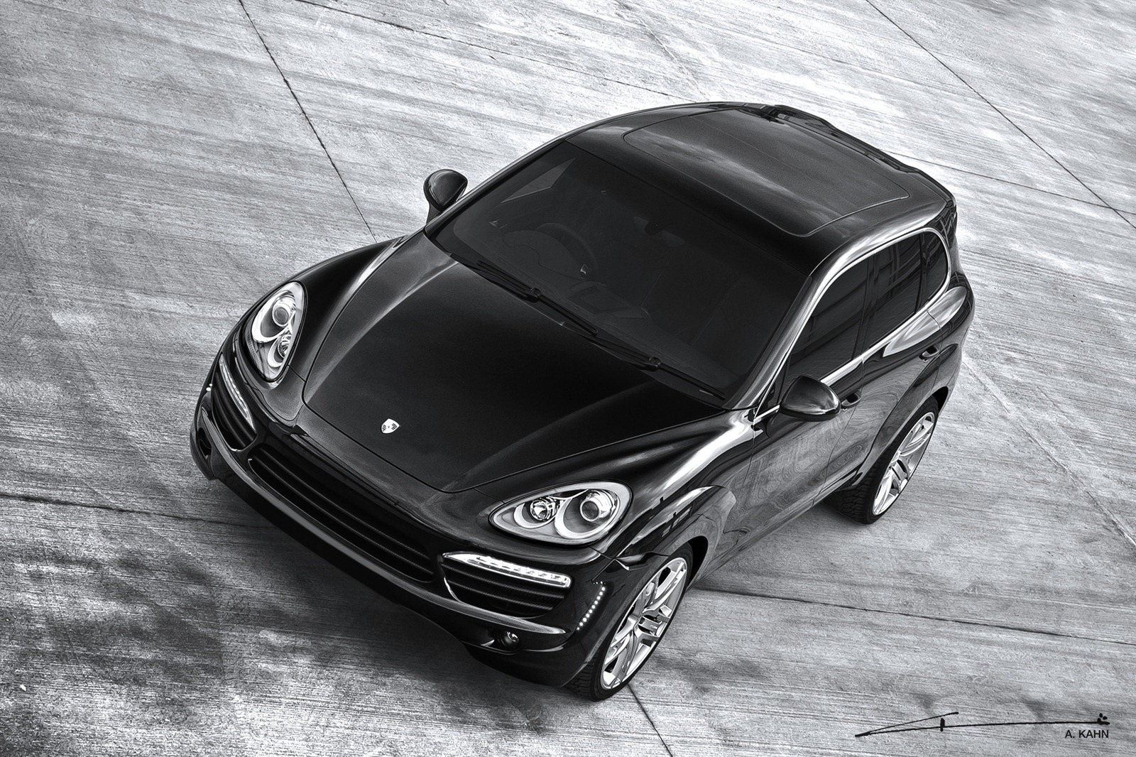 Porsche Cayenne by Project Kahn