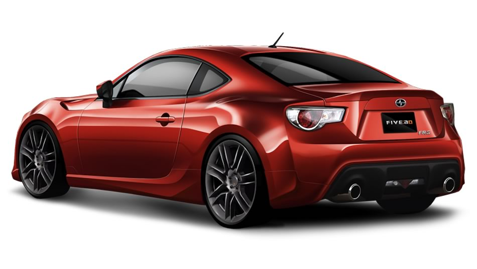 Scion FR-S by Five Axis Design