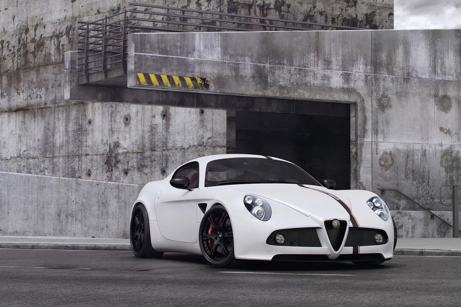 Wheelsandmore presents Alfa Romeo 8C Competizione tune