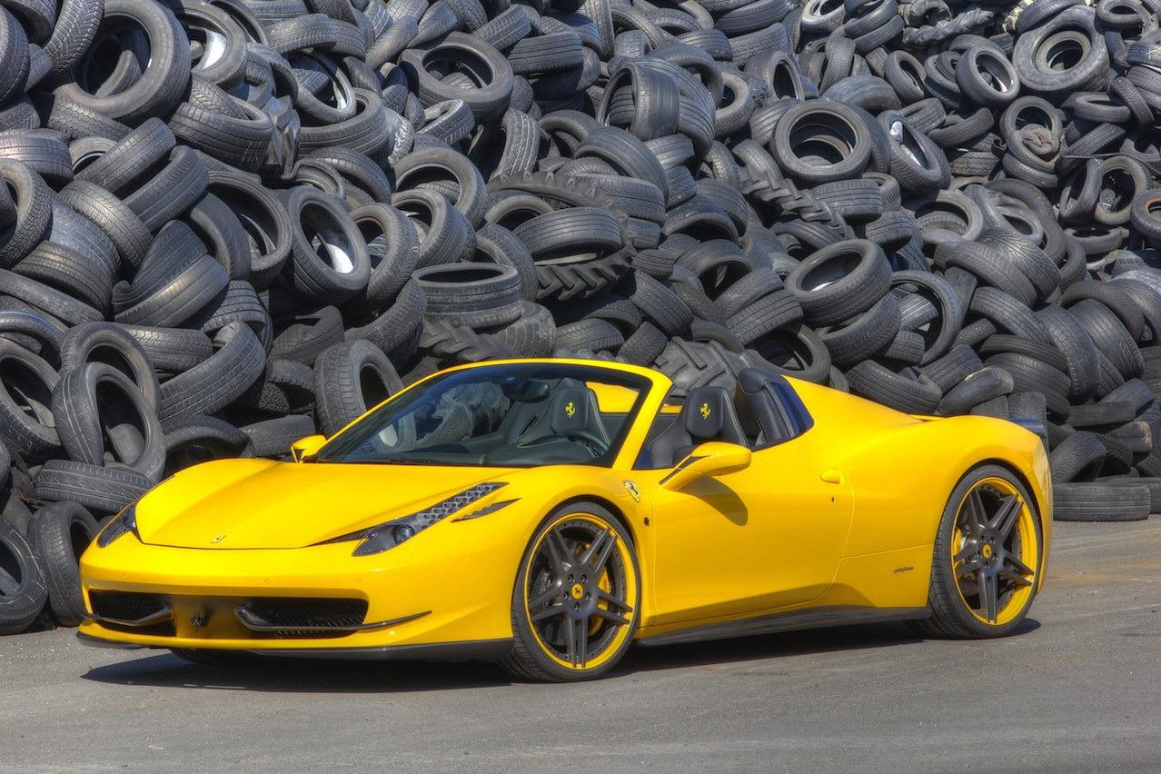 Ferrari 458 Italia Spider tuned by Novitec Rosso