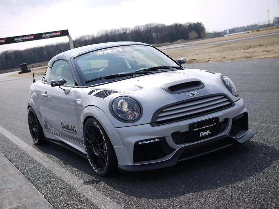 DuelL AG tunes the Mini Coupe JCW