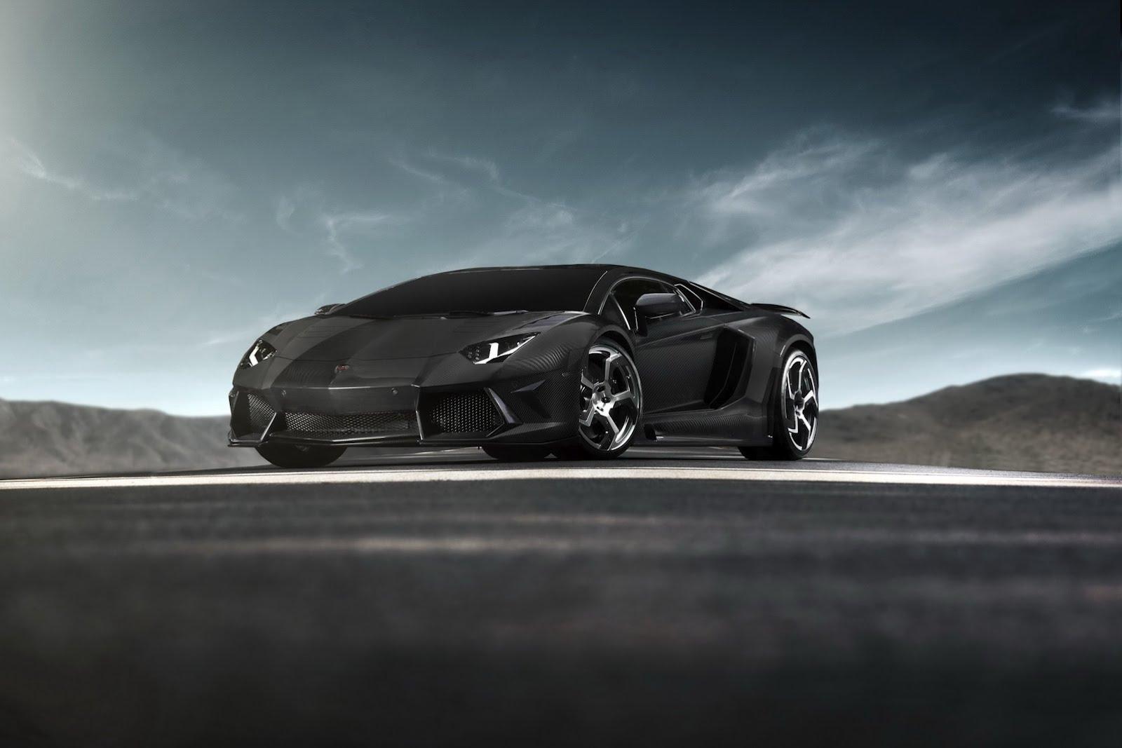 Mansory dresses Lamborghini Aventador in Carbon Fiber