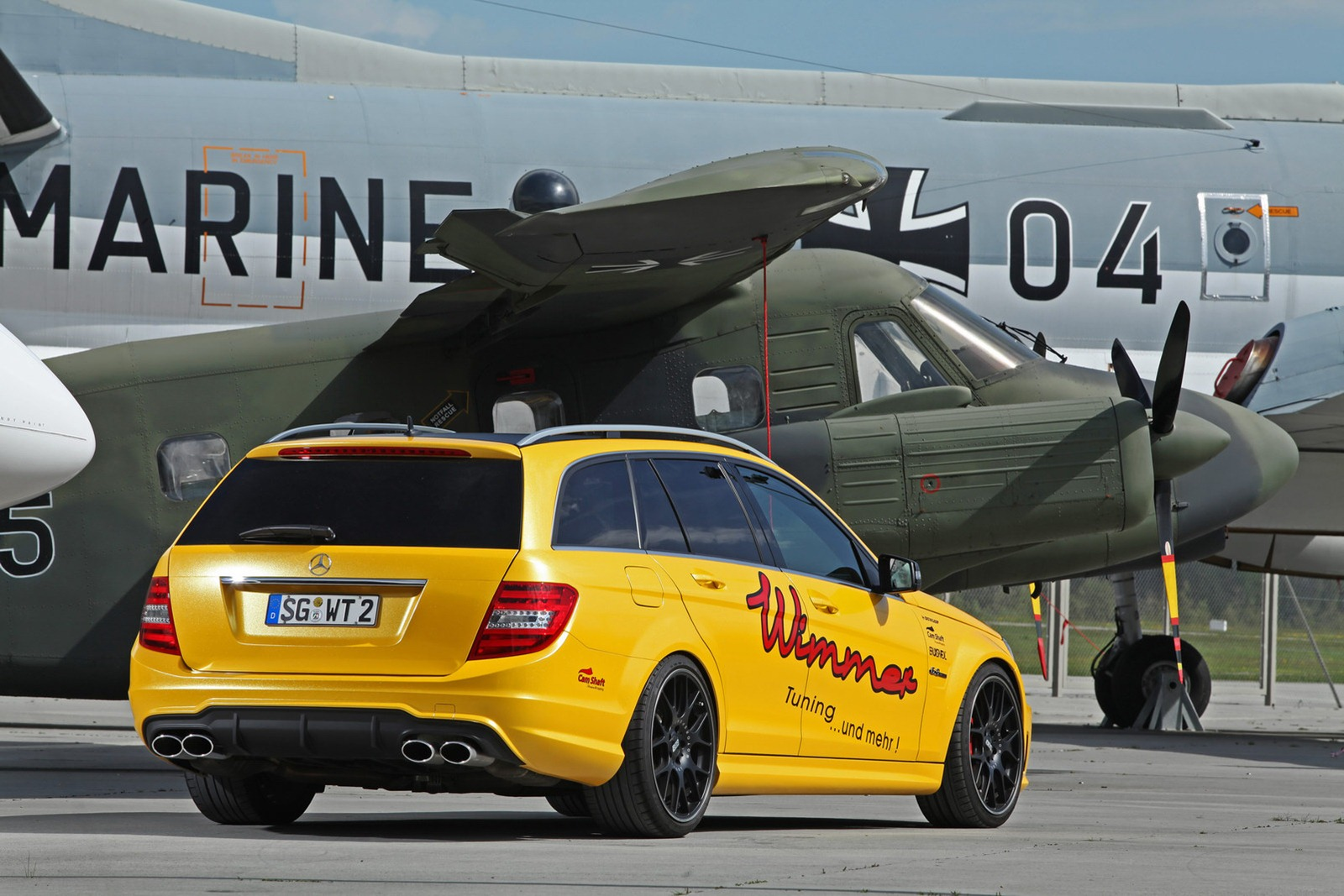 Mercedes C63 AMG Wagon by Wimmer RS