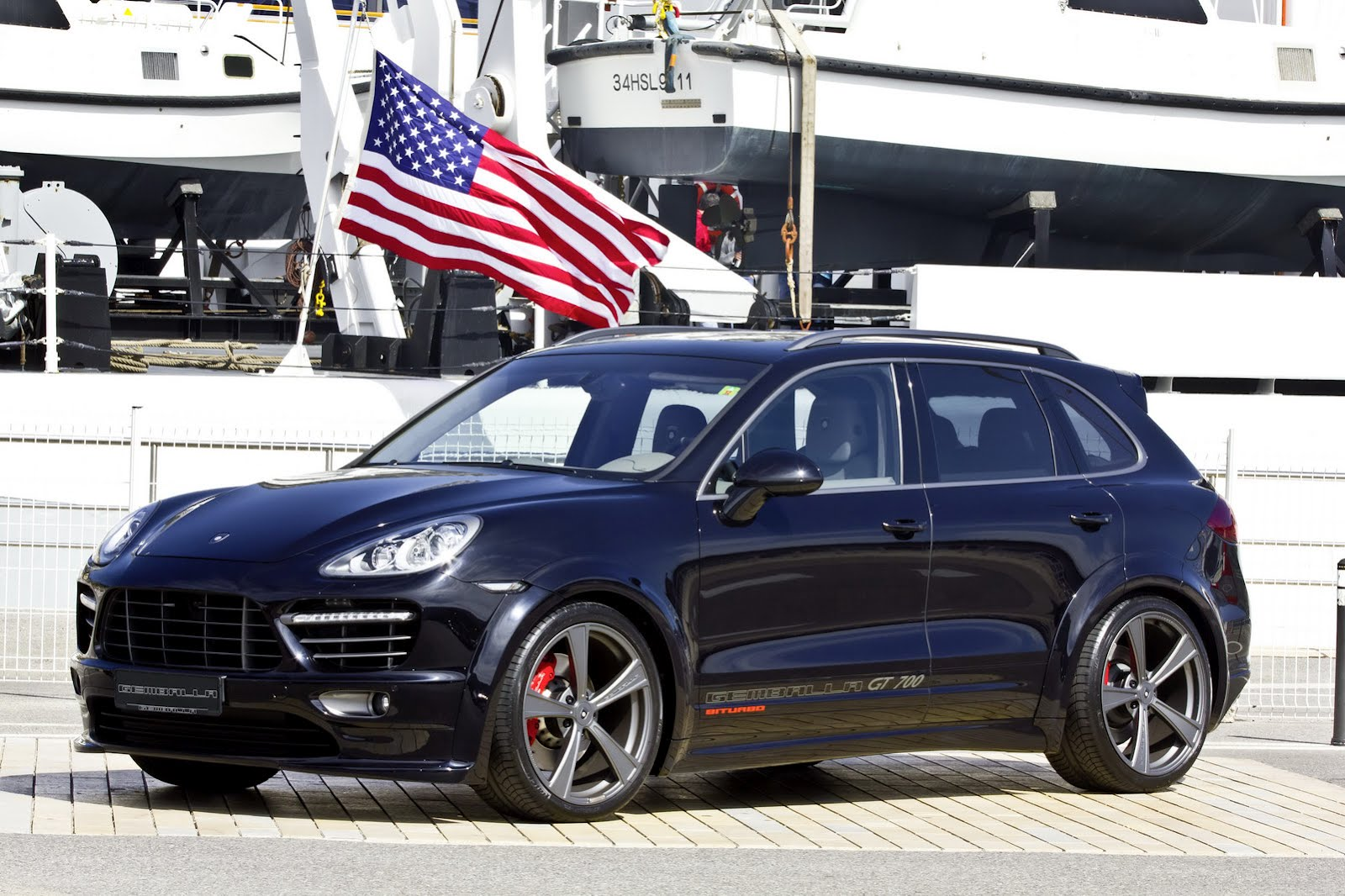 Porsche Cayenne gets new aero kit from Gemballa