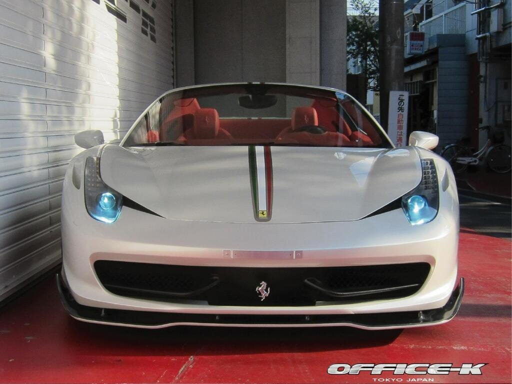 Office-K tunes the new Ferrari 458 Spider
