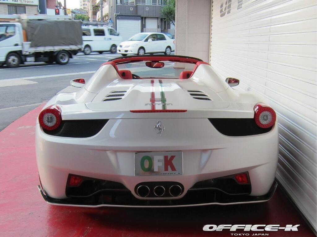 Ferrari 458 Spider by Office-K