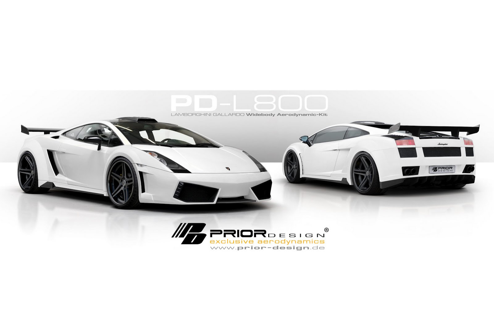 Prior Design tunes the Lamborghini Gallardo