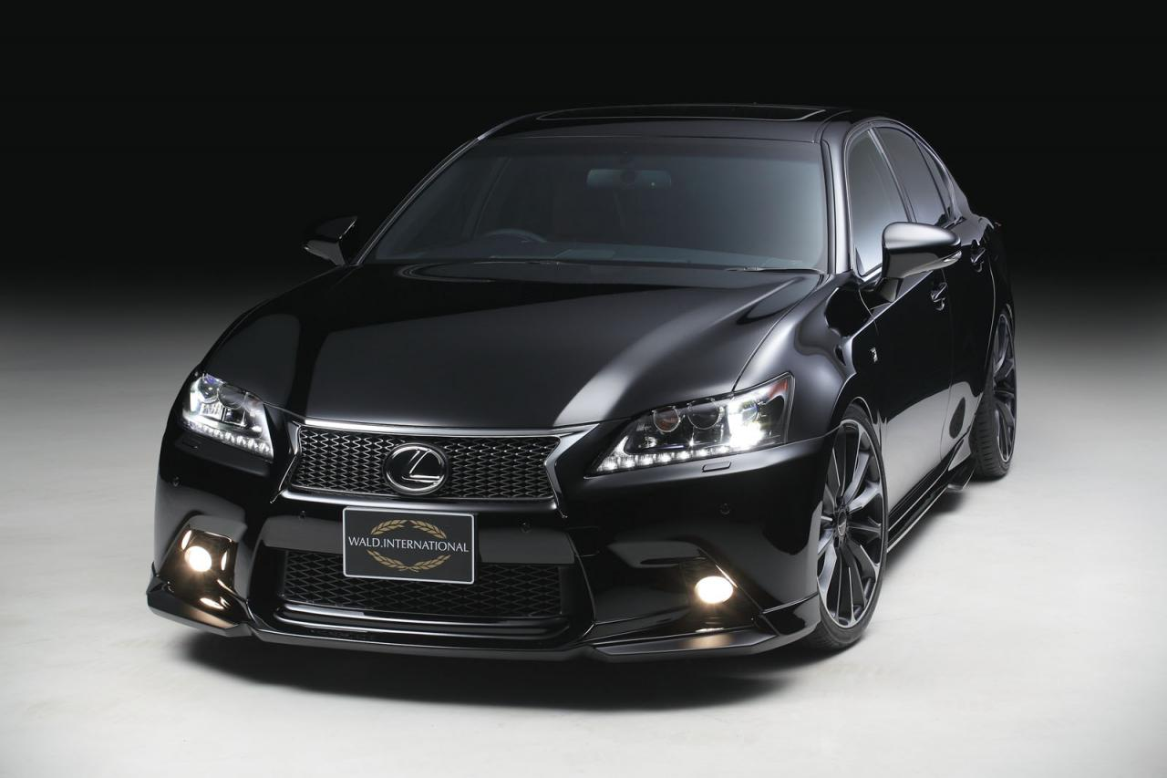 Wald International's take on the Lexus GS F Sport