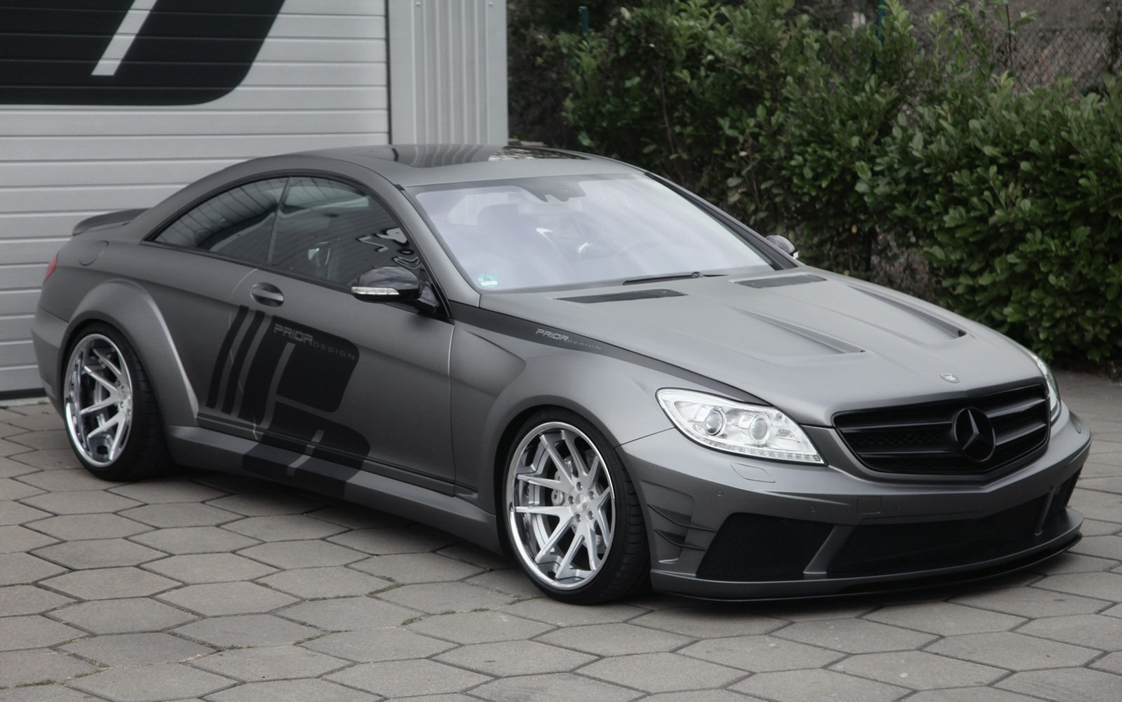 Mercedes CL-Class Coupe by Prior Design