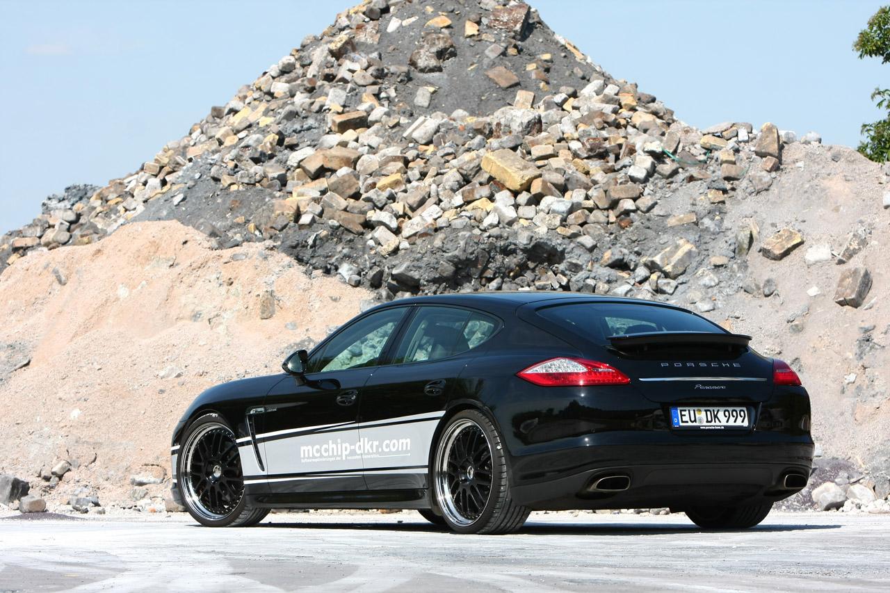 Mcchip-DKR prepares the Porsche Panamera Diesel