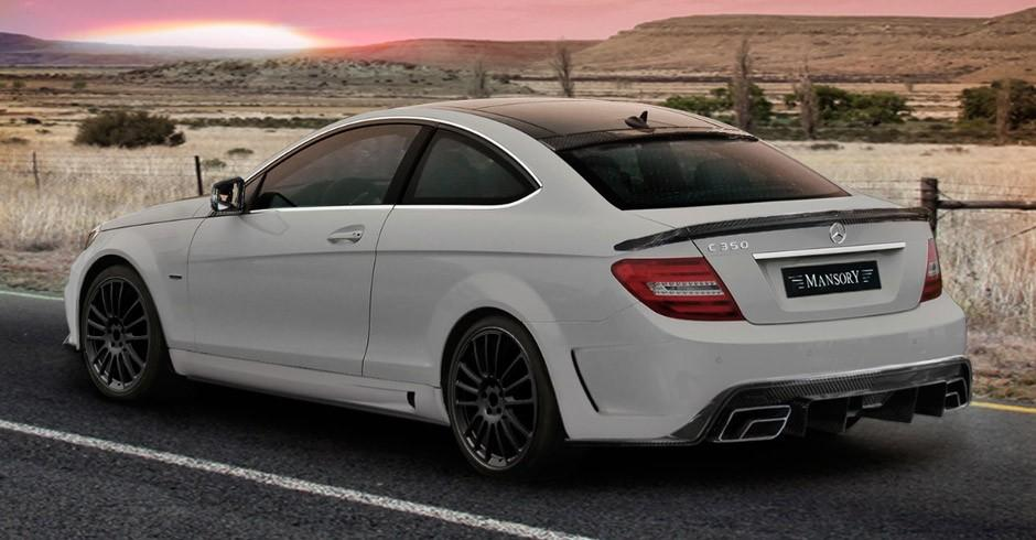 Mercedes C-Class Coupe by Mansory