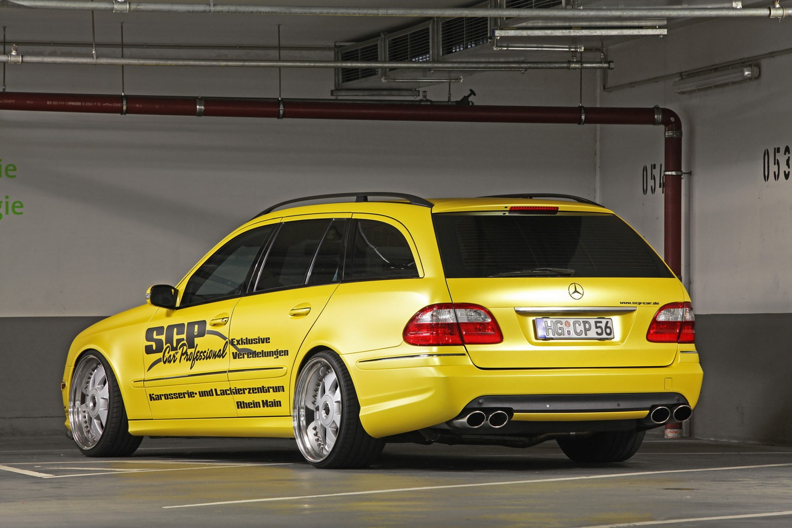 Mercedes E-Class Wagon by SCP