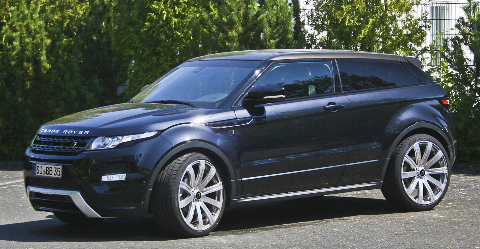 Range Rover Evoque gets power boost from B&B
