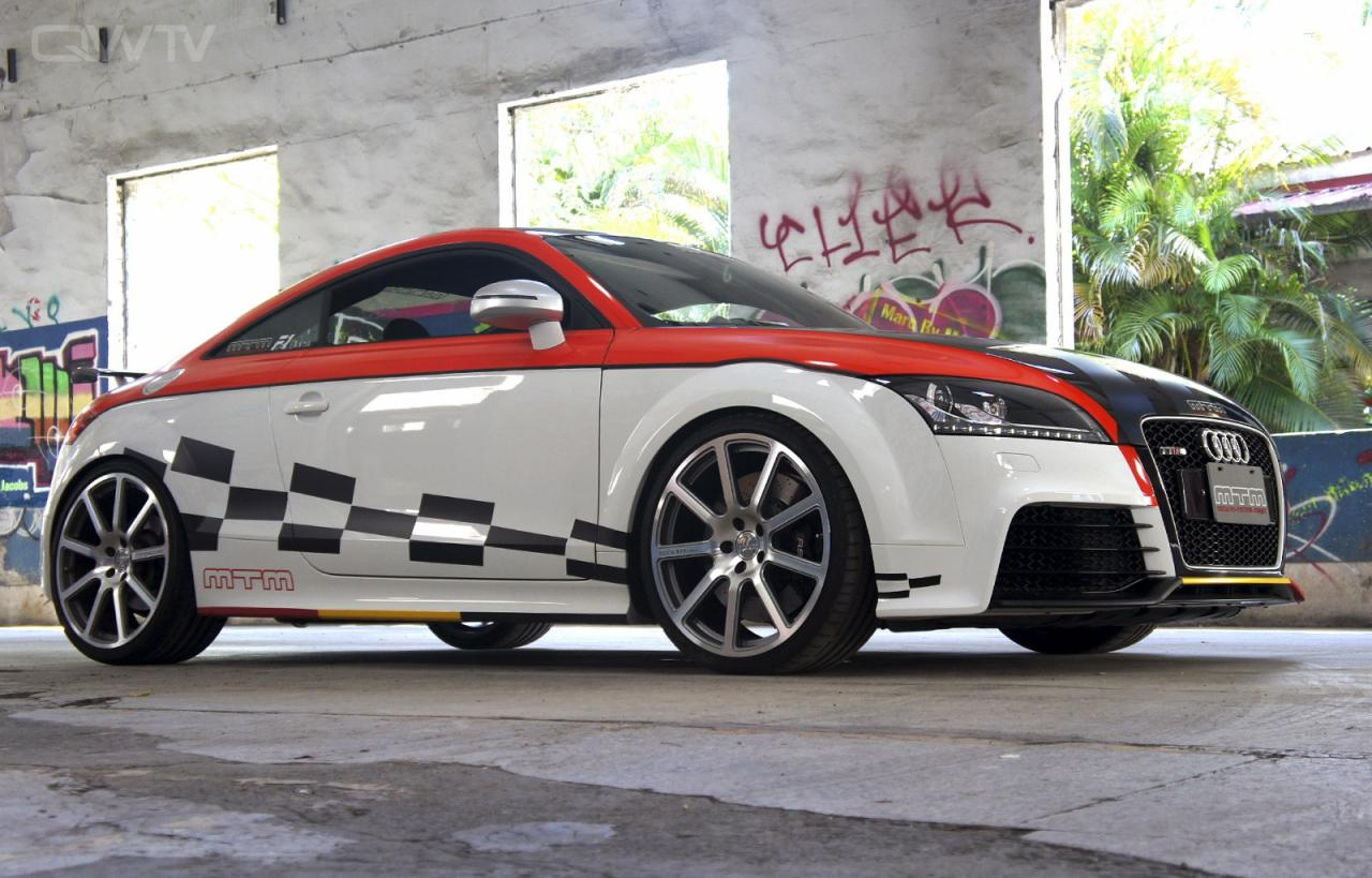 audi tt rs gets 472hp from mtm carz tuning. Black Bedroom Furniture Sets. Home Design Ideas