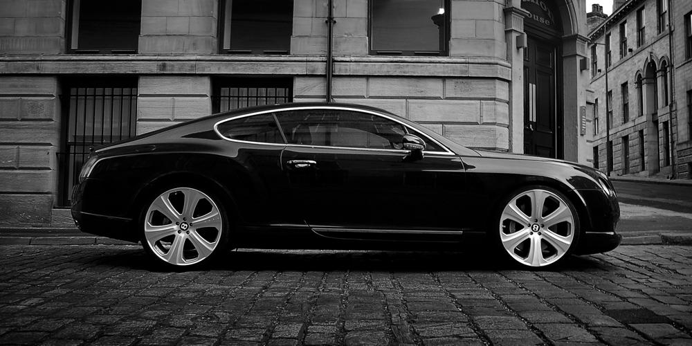 Wheelsandmore tunes the Bentley Continental GT