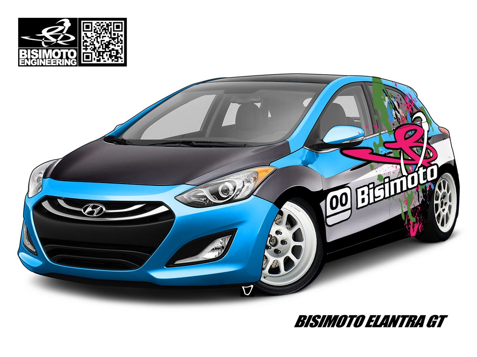 Bisimoto Engineering presents Hyundai Elantra GT tuning kit