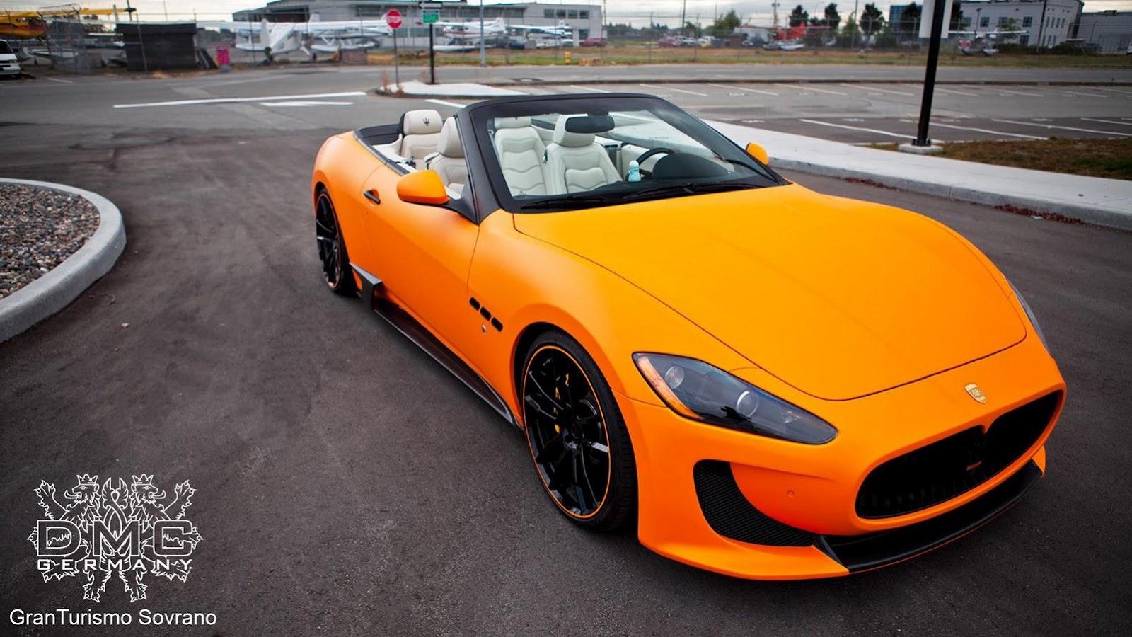 Maserati GranCabrio tuned by DMC