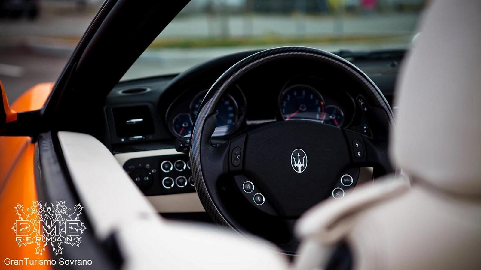 Maserati GranCabrio by DMC