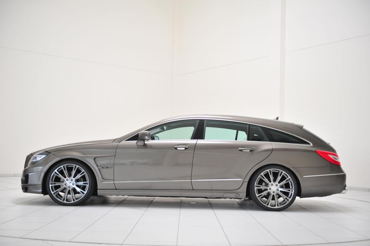Brabus unveils Mercedes CLS Shooting Brake tuning kit