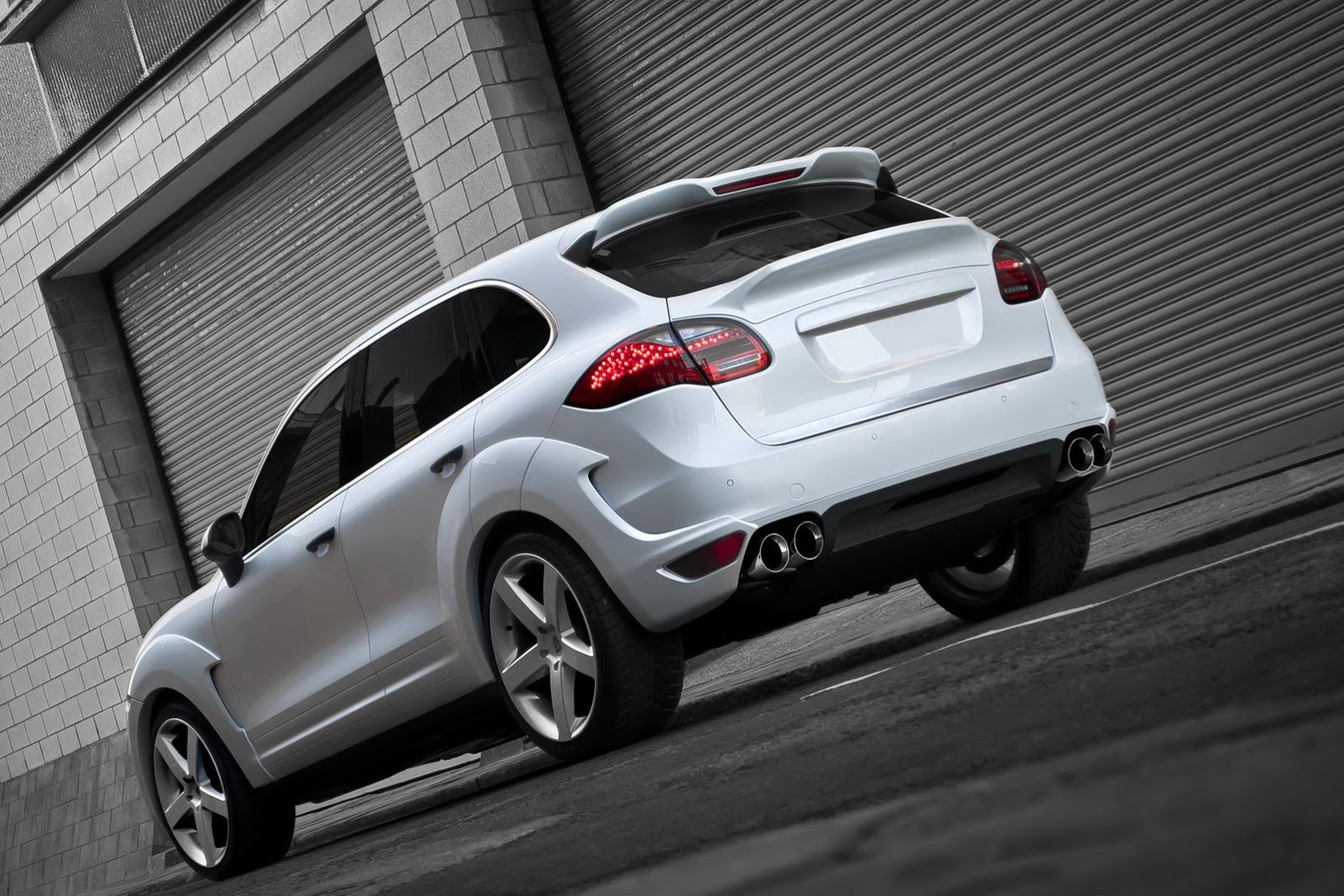 New Porsche Cayenne Diesel tuned by Kahn Design