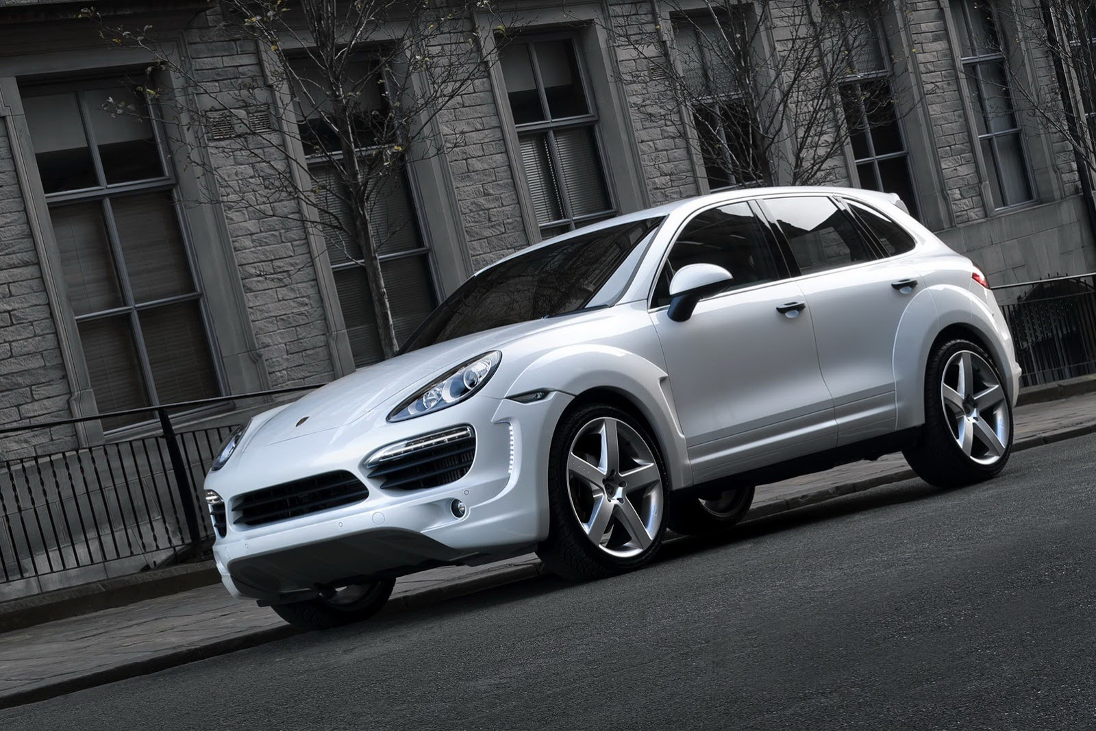 Porsche Cayenne by Kahn Design