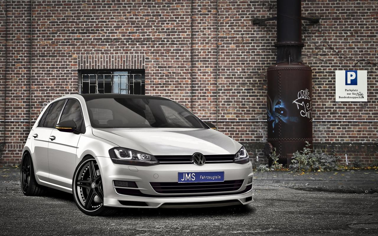 New Volkswagen Golf gets JMS tuning kit