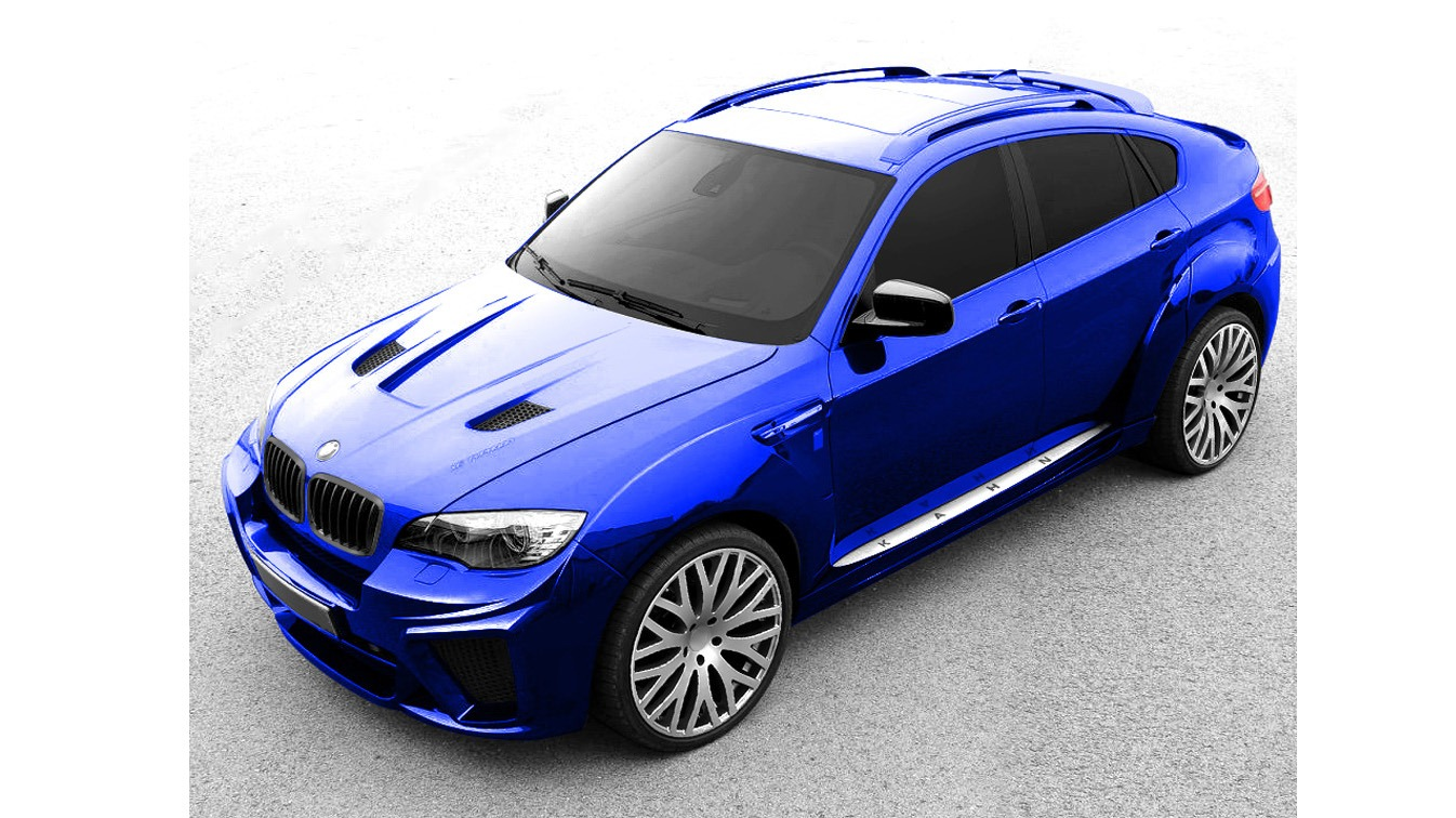 BMW X6 restyled by Kahn Design