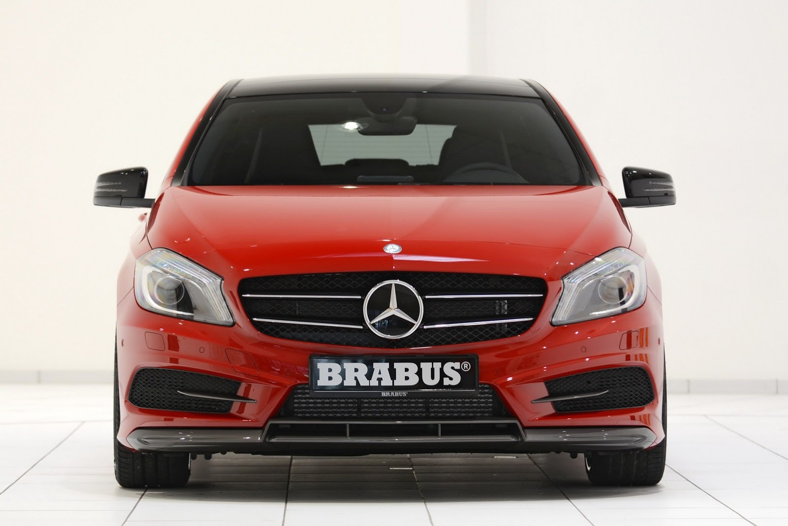 New Mercedes A-Class gets Brabus treatment