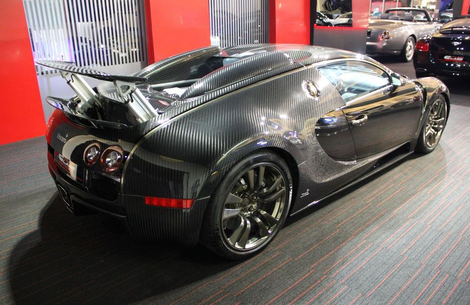 Mansory tuned Bugatti Veyron on the market