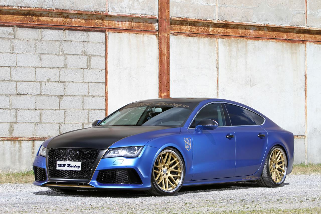 Audi A7 gets a power boost from MR Racing