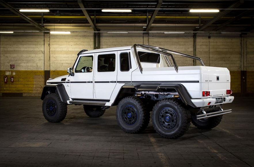 Mercedes G63 AMG 6×6 by Carlsson