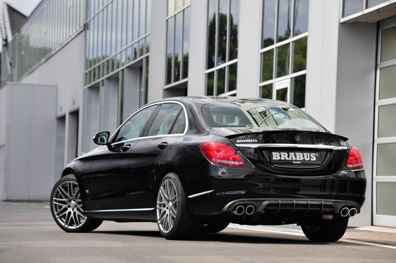 Mercedes C-Class tuned by Brabus