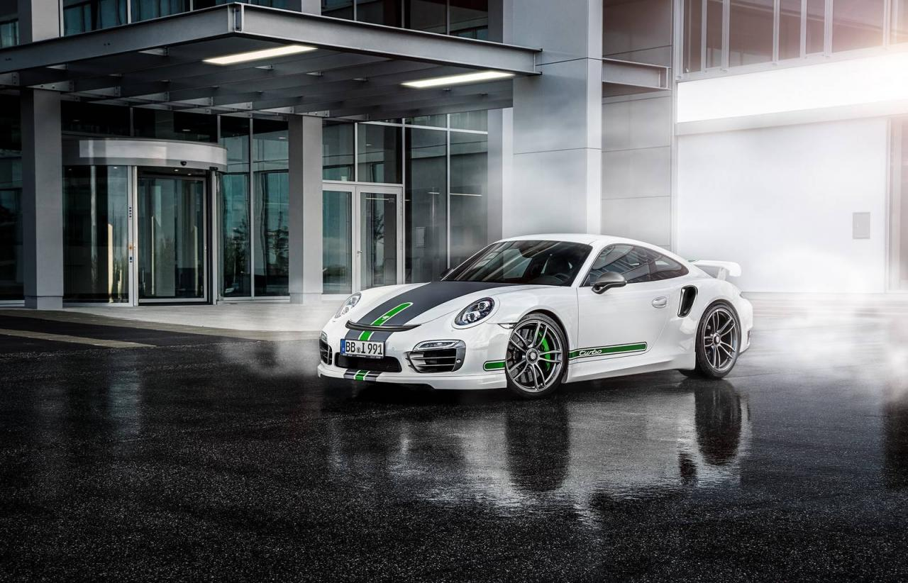 Porsche 911 Turbo by TechArt