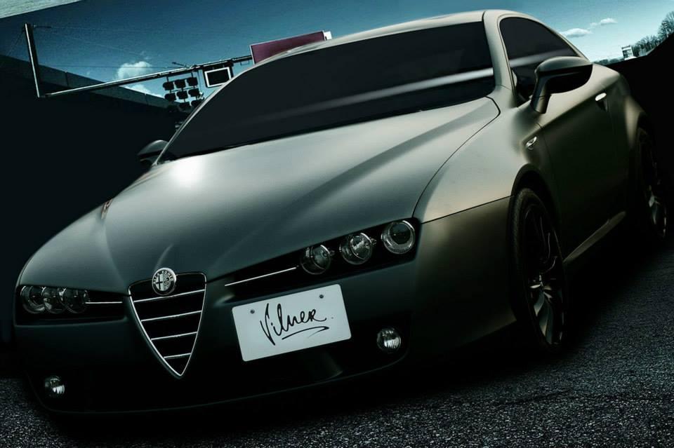 Vilner restyles the Alfa Romeo Brera