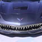 Chevrolet Corvette Stingray with shark teeth grille