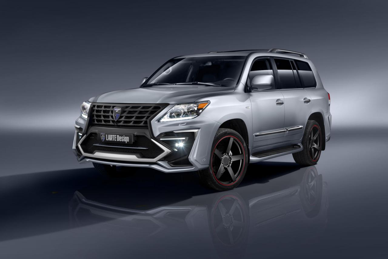 Lexus LX 570 tuned by Larte Design
