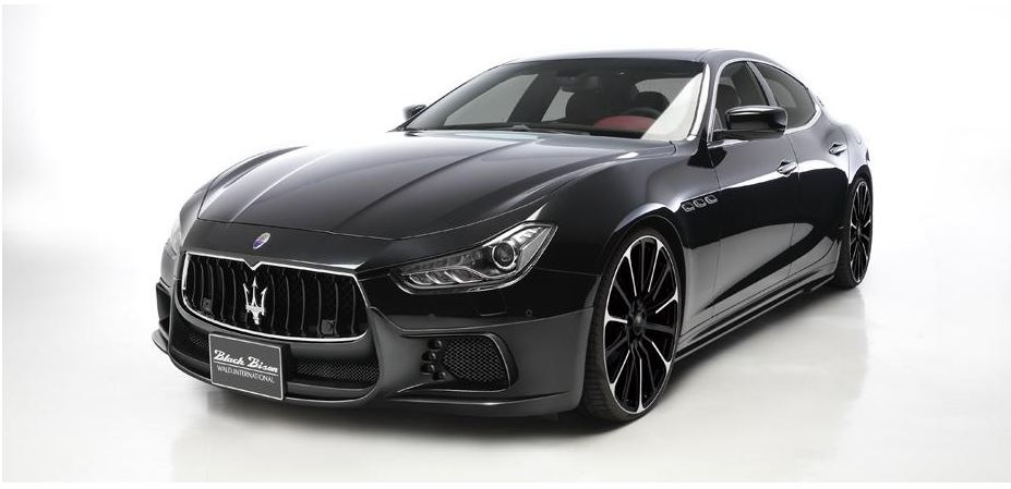 Maserati Ghibli Black Bison preview