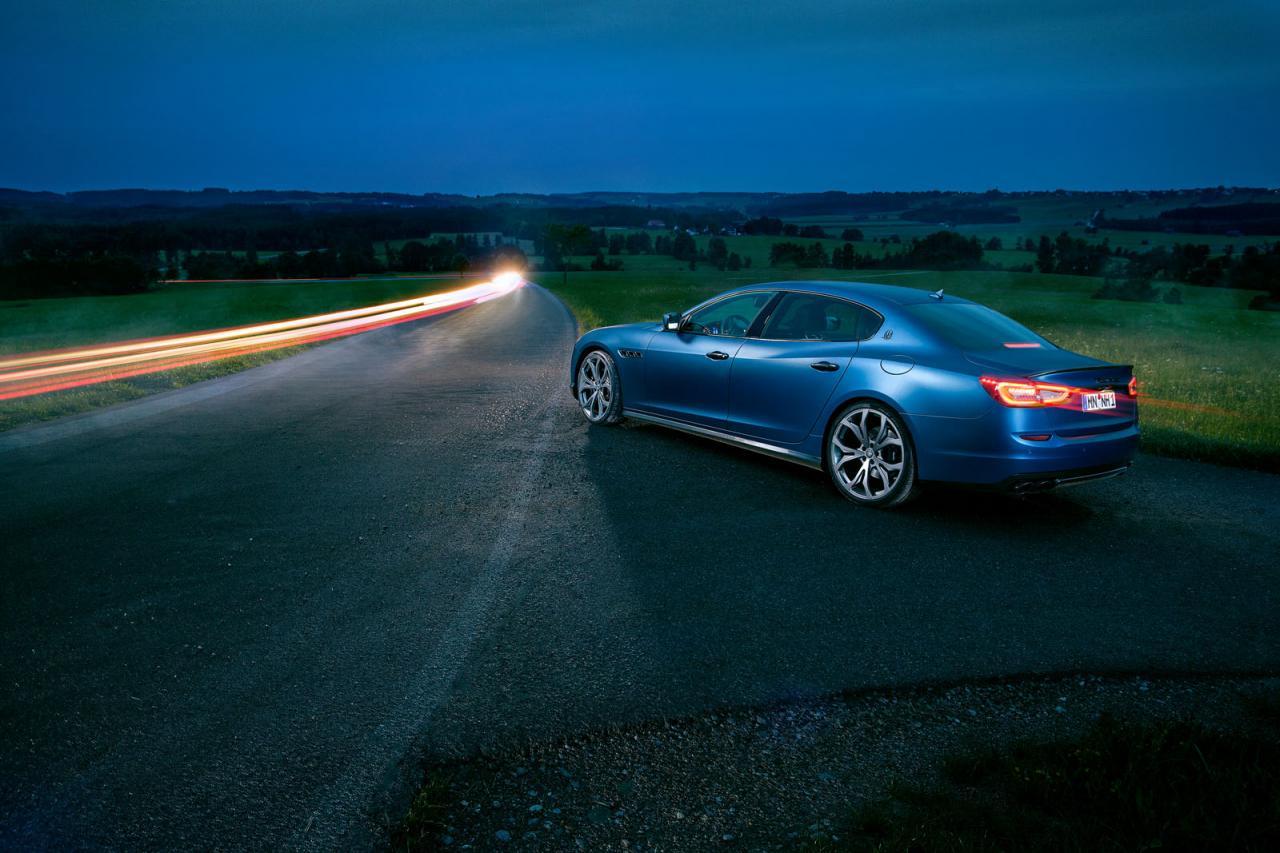 Maserati Quattroporte tuned by Novitec Tridente