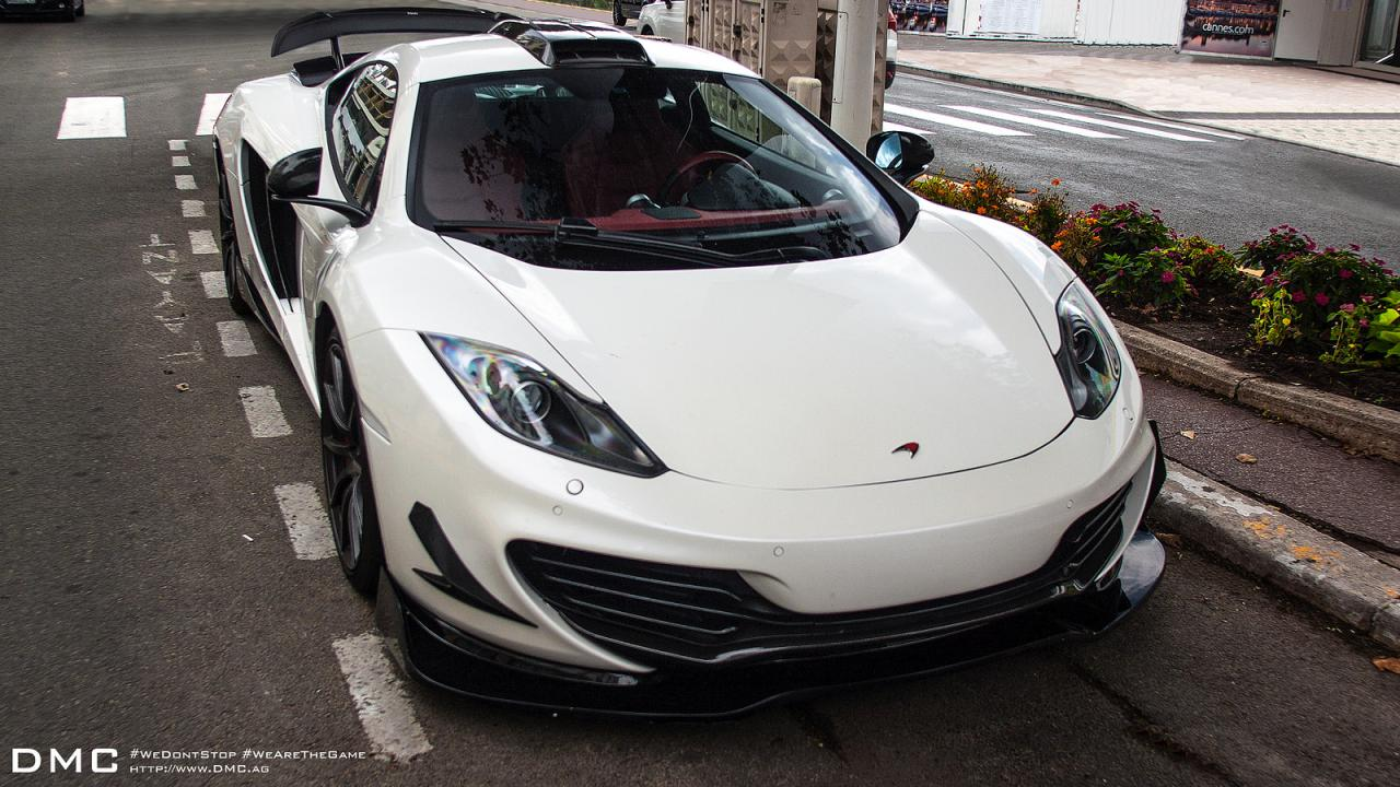 DMC presents the McLaren MP4-12C Velocita Wind Edition