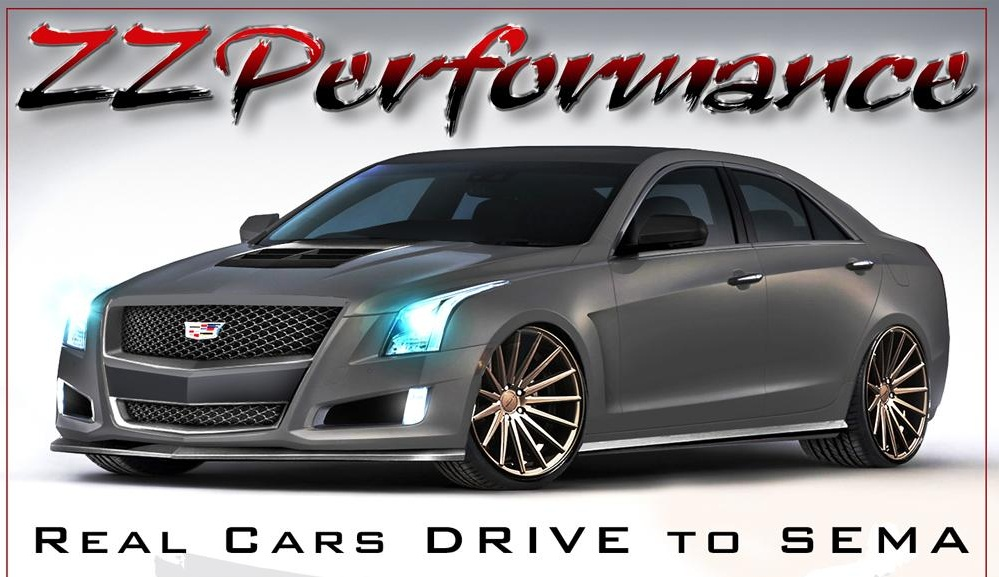 Cadillac ATS by ZZ Performance comes at SEMA