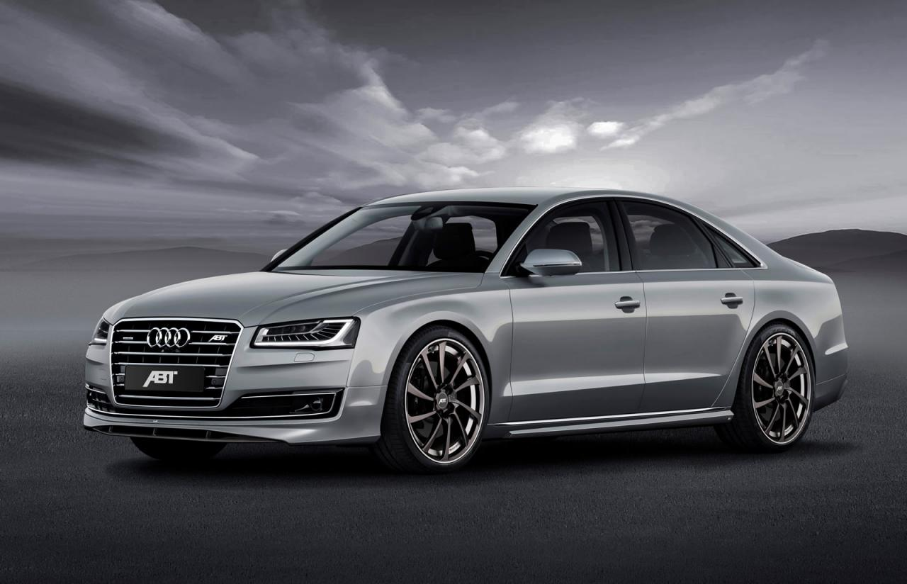 ABT Sportsline tunes the Audi A8 facelift