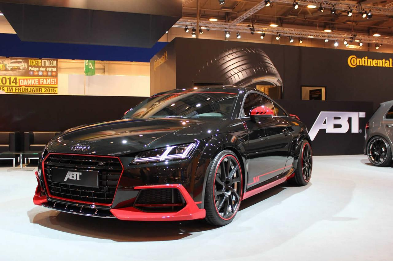 Audi TT Coupe by ABT shows up at Essen