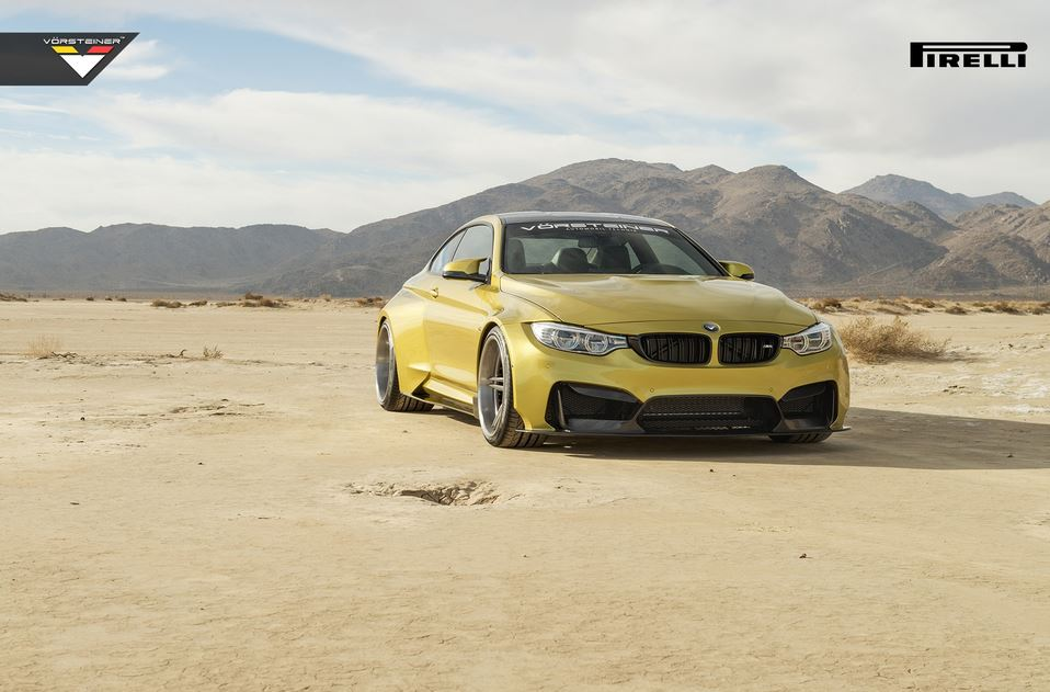 BMW M4 GTRS4 kit from Vorsteiner