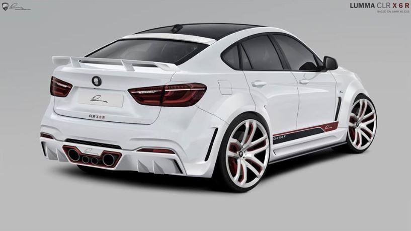BMW M6 xDrive50i by Lumma Design