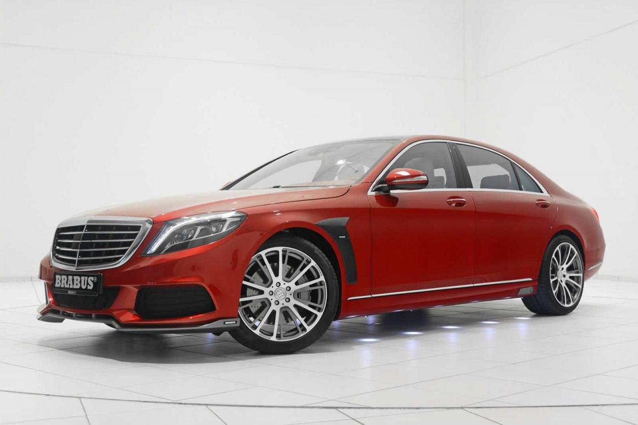 mercedes benz s class by brabus carz tuning. Black Bedroom Furniture Sets. Home Design Ideas