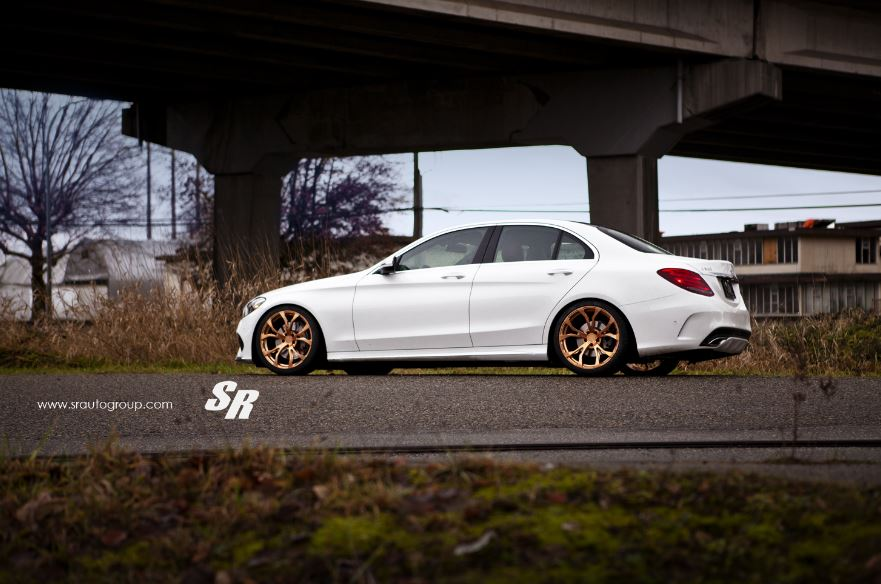Mercedes C300 by SR Auto Group