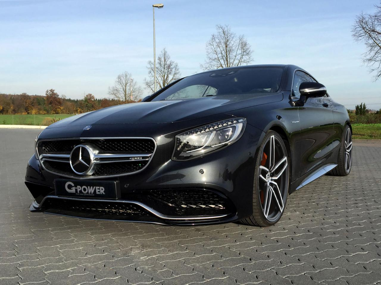 Mercedes S63 AMG Coupe by G-Power