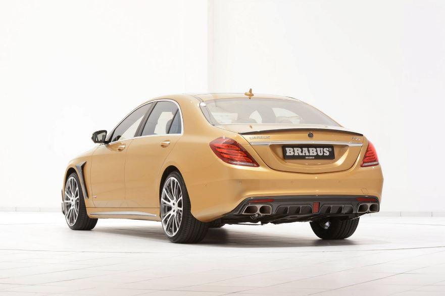 Mercedes S63 AMG by Brabus