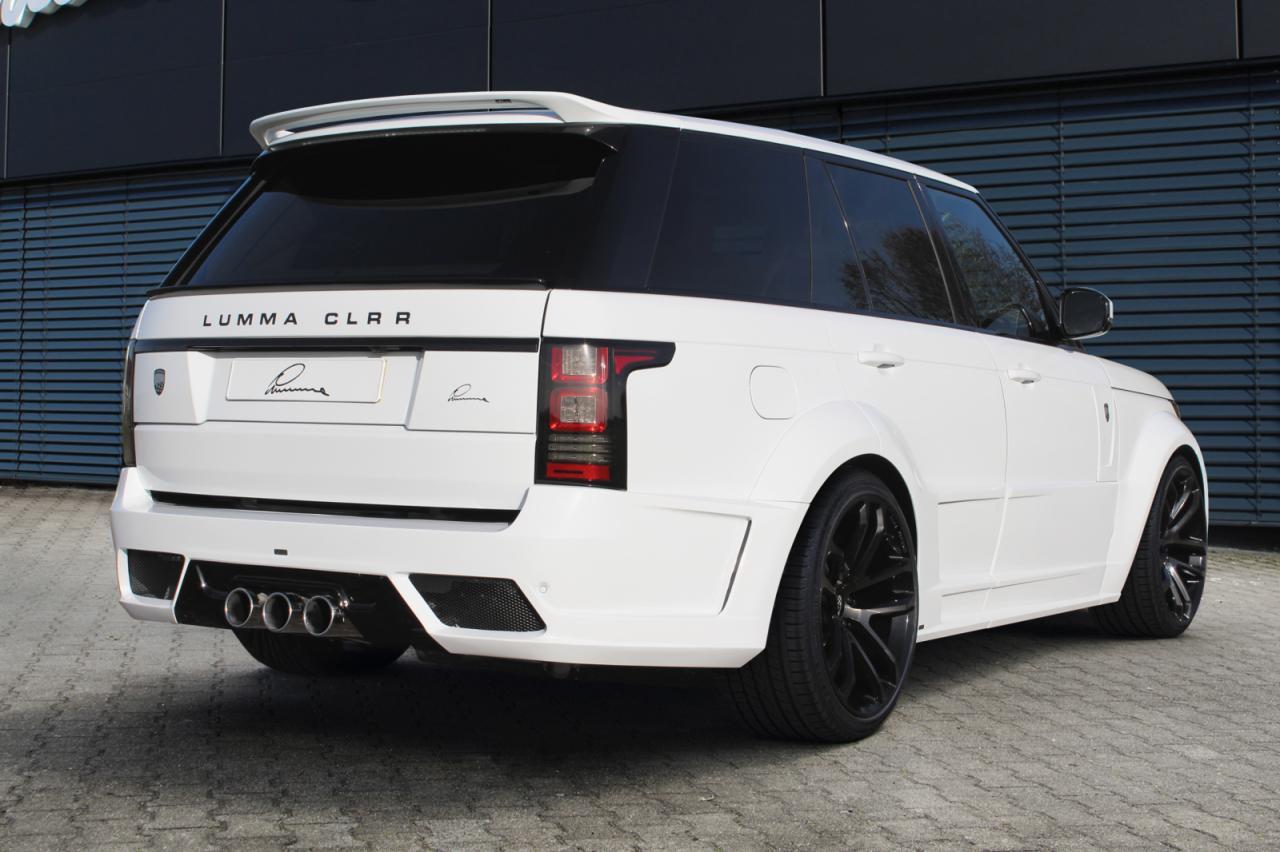 Range Rover By Lumma Design Carz Tuning